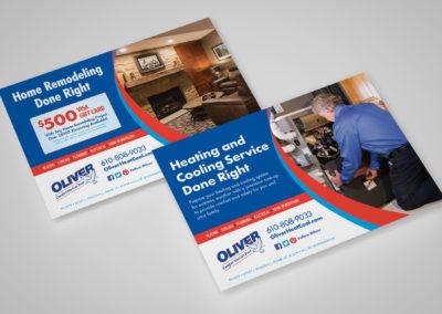 Oliver HVAC Service Ads